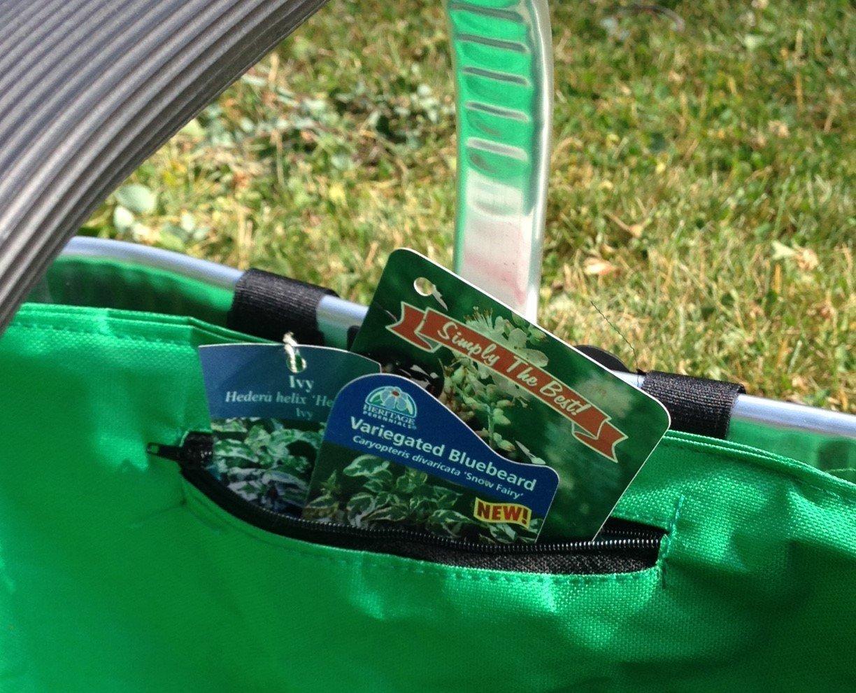 Plegable cesta de bolsa Con Estructura De Aluminio Para Picnics y compras: Amazon.es: Jardín