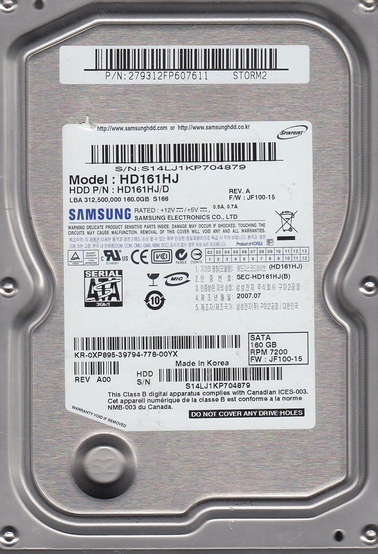 Hd161hj D Fw Jf100 15 Storm2 Samsung 160gb Sata 35 Hard Hdd 160 Gb Like New Drive Computers Accessories