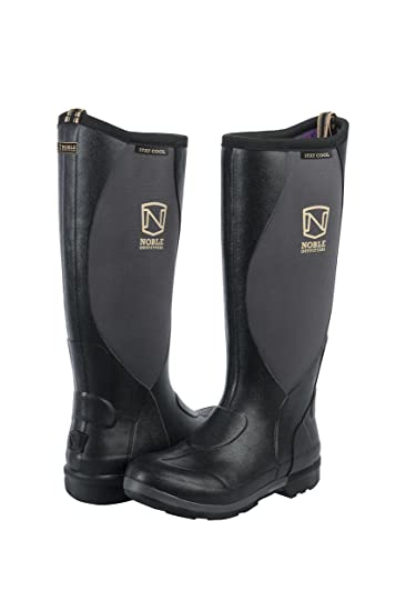 Noble Outfitters Footwear Womens Muds Stay Cool Boots 6 Black