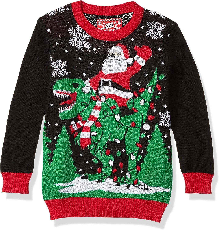 Hybrid Apparel Boys' Ugly Christmas Sweater