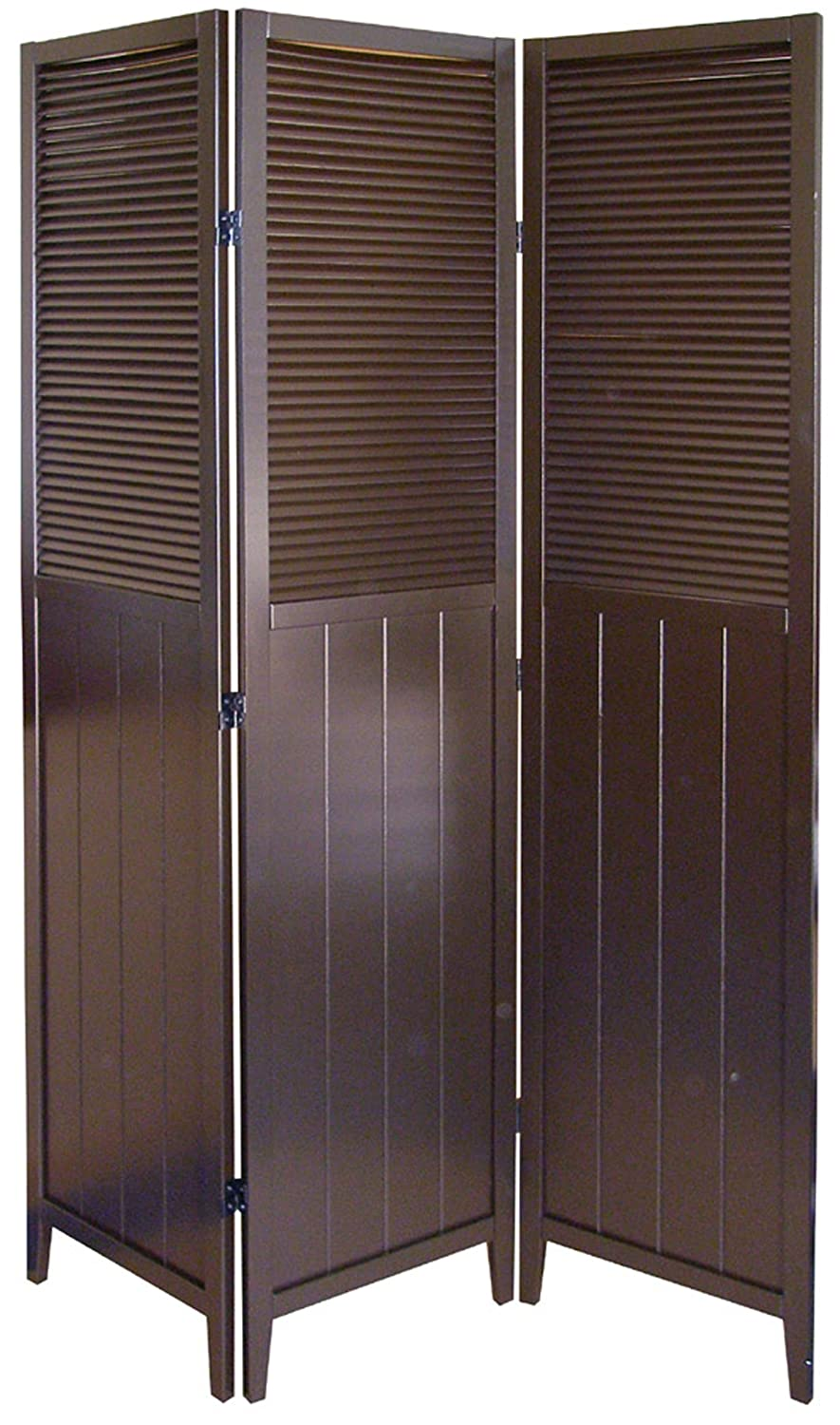 Amazoncom Shutter Door 3 Panel Room Divider Kitchen Dining