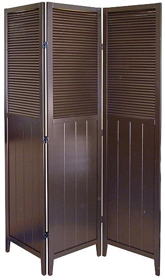 Amazoncom Shutter Door 3 Panel Room Divider Kitchen Dining