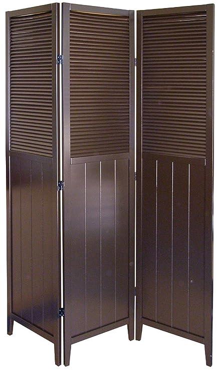 Shutter Door 3 Panel Room Divider