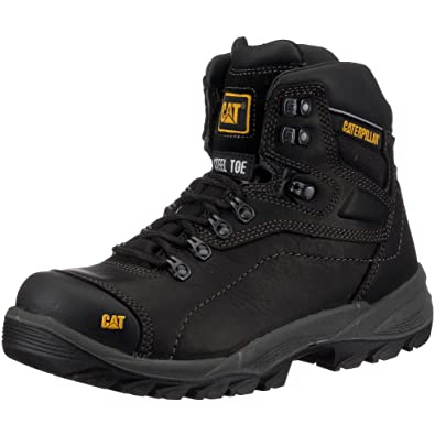 CAT Diagnostic - Botas de seguridad Hi S3 para hombre, color negro, talla 40