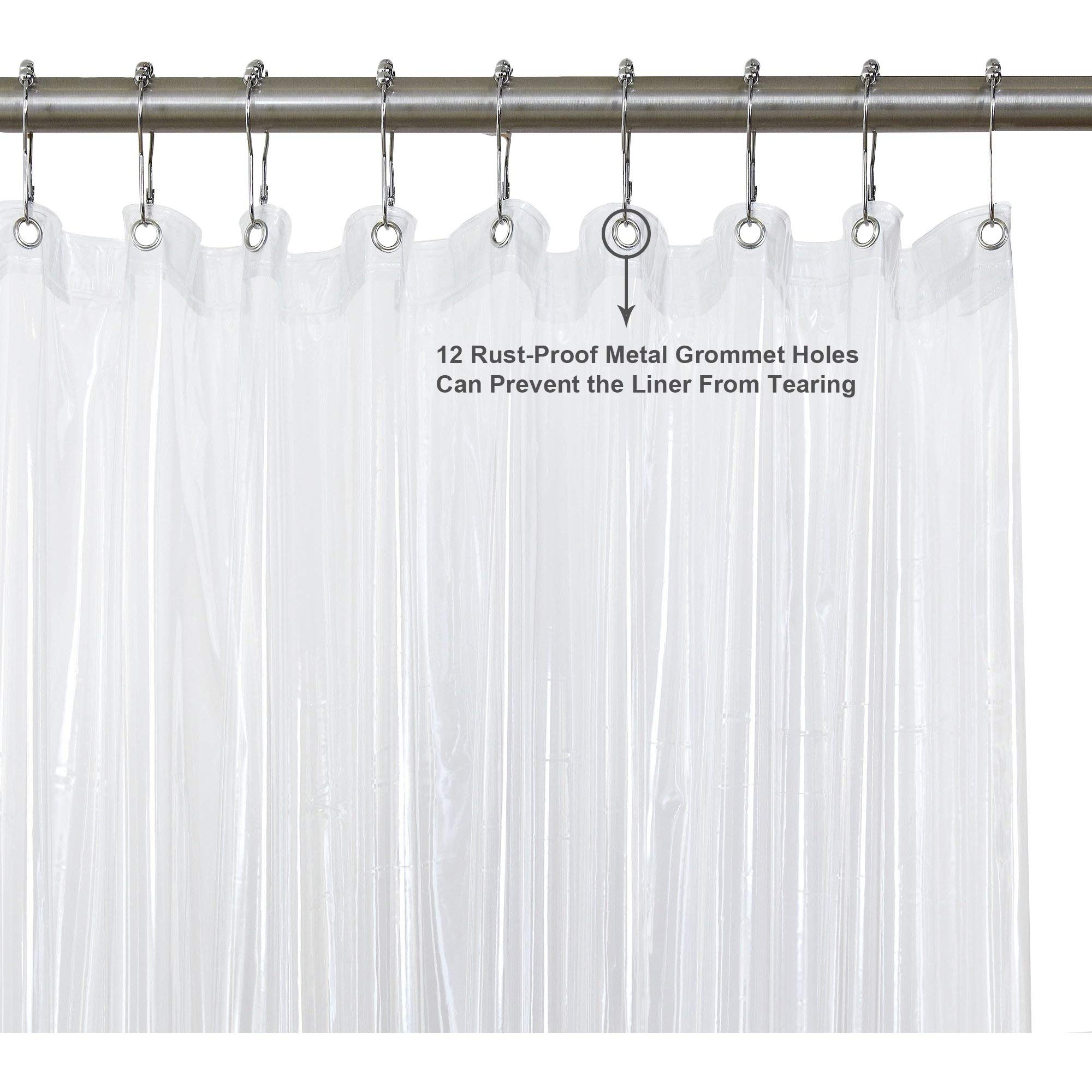 downluxe Kids Shower Curtain Set - Waterproof Curtains for Bathroom by downluxe (Image #4)