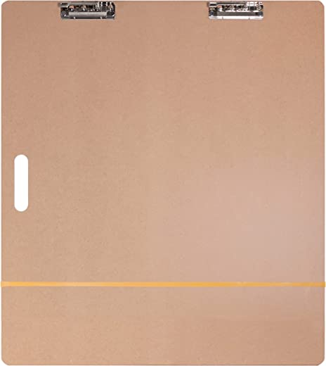 """US Art Supply Artist Sketch Tote Board - Great for Classroom, Studio or Field Use (23""""x26"""")"""