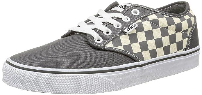 Vans Atwood Herren Sneaker Grau/Weiß Kariert