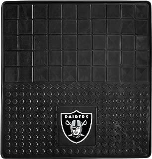 "product image for FANMATS 10924 NFL - Las Vegas Raiders Heavy Duty Vinyl Cargo Mat,Multi-colored,31""x31"""