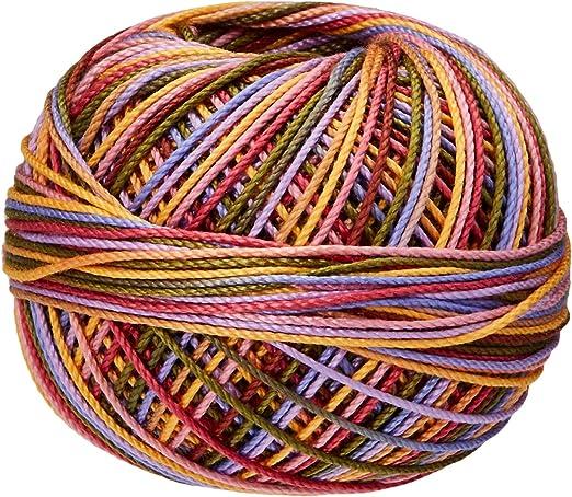 Handy Hands Lizbeth Premium Cotton Thread Red Burst Size 40