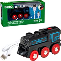Brio 33599 Rechargeable Engine with Mini USB Cable Train