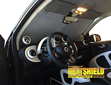 Image Unavailable. Image not available for. Colour  Sunshade for 2016 2017 Smart  ForTwo ... f680a466d6d