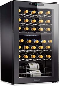 Wine Enthusiast 32-Bottle Dual Zone MAX Compressor Wine Cooler