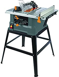 Genesis gts10sb 10 inch 15 amp table saw with stand power table truepower 10 15 amp table saw with steel stand greentooth Choice Image
