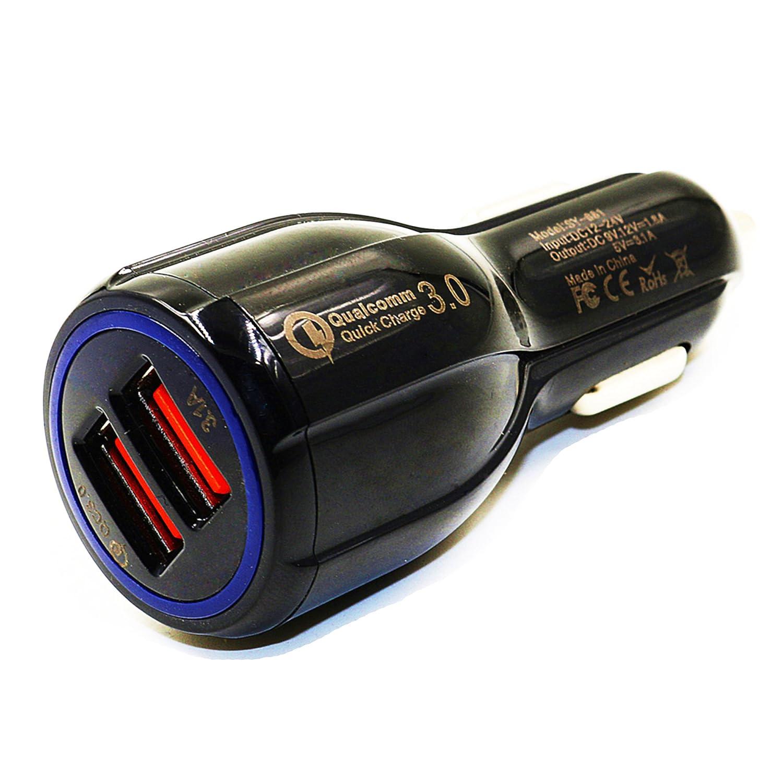 motopower mp69043 aデュアルポートUSB充電器ブラック B076PMV46D