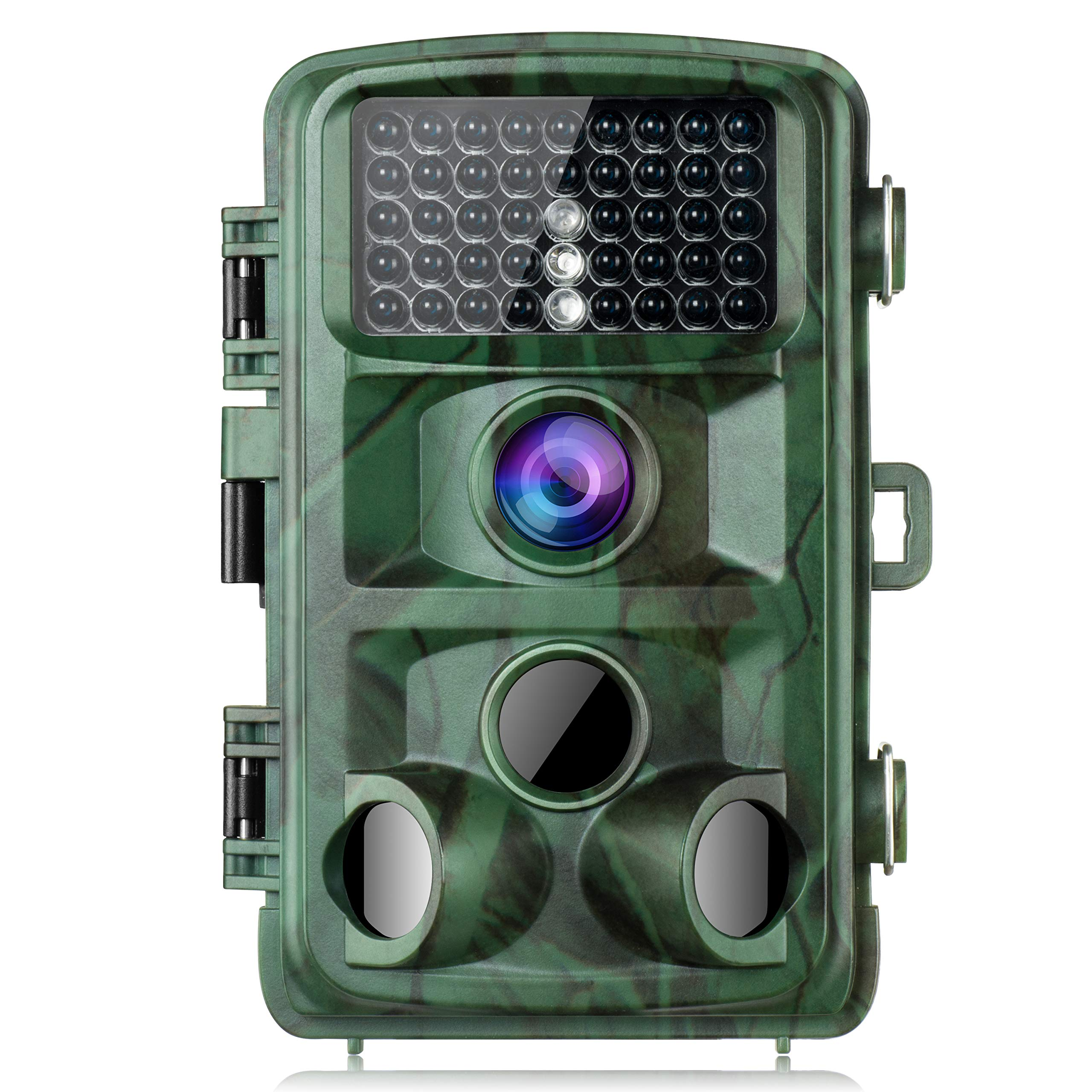 TOGUARD Trail Camera 14MP 1080P Game Camera with Night Vision Motion Activated Waterproof Wildlife Hunting Cam 120° Detection with 0.3s Trigger Speed 2.4'' LCD IR LEDs by TOGUARD