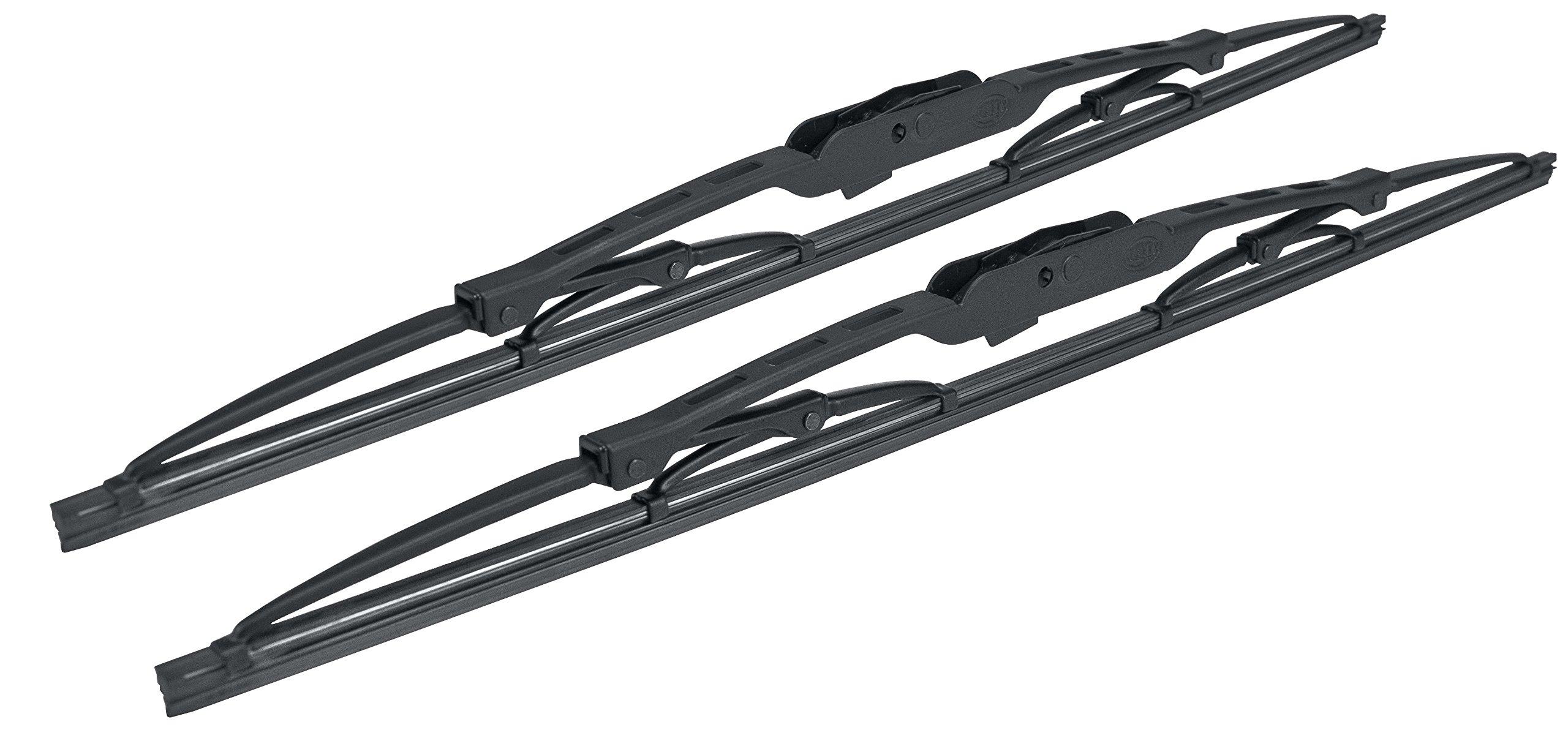 HELLA 9XW398114018 Standard Wiper Blade, 18'', Pair by HELLA