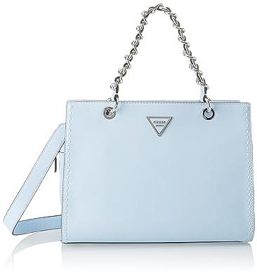 Damen Hwvy6959060 Umhängetasche, Blau (Sky), 14.5x25x33.5 centimeters Guess
