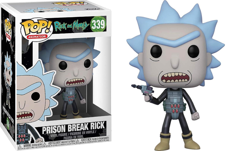 Rick and Morty Pop Animation 339 Prison Break Rick Vinyl Figure Boxed