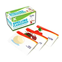 Kindergarten Spelling Flashcards: 240 Flashcards for Building Better Spelling Skills Based on Sylvan's Proven Techniques for Success