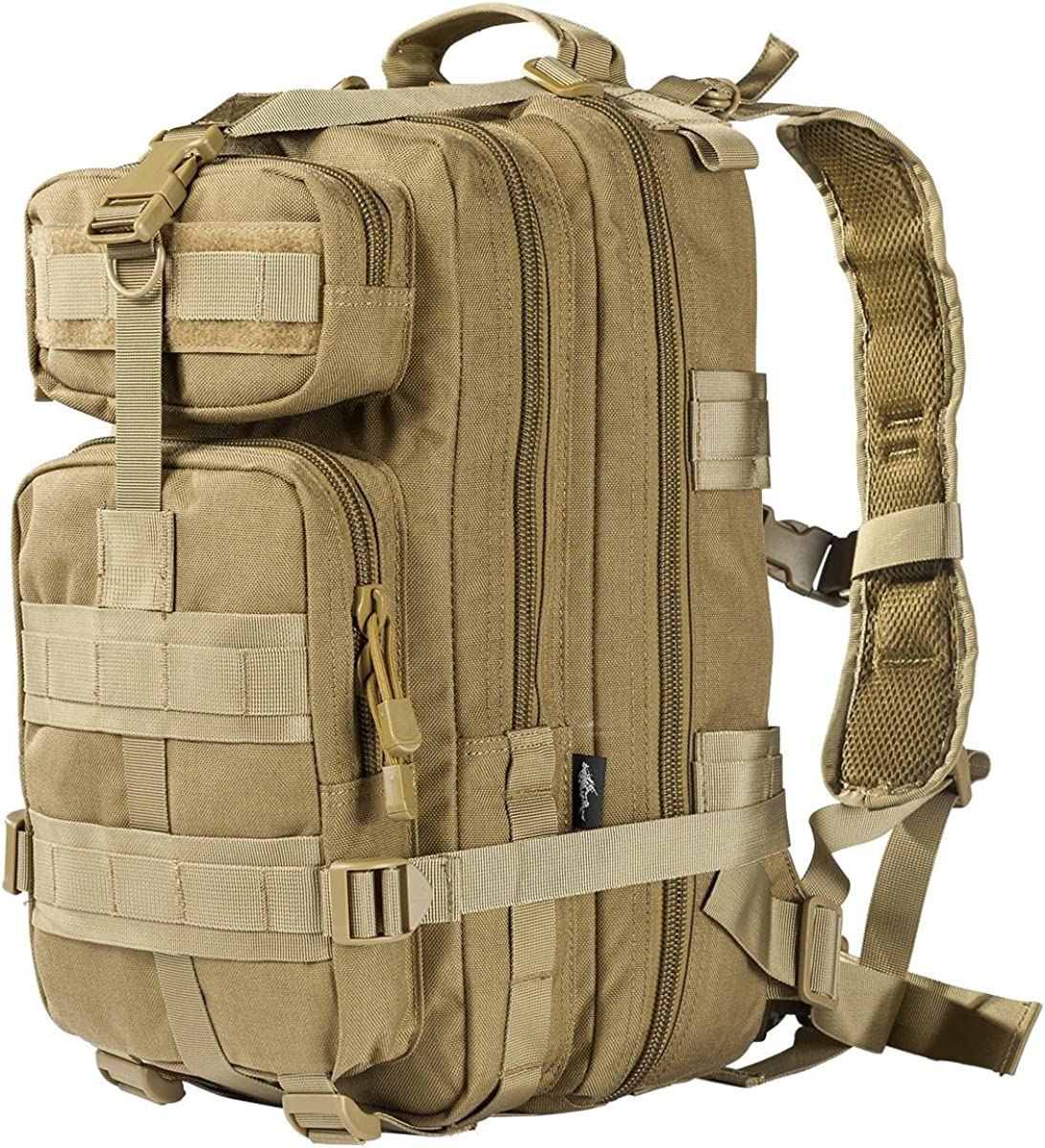 FREE SOLDIER Tactical Backpack Military Rucksacks Molle Army Bug Assault Pack Backpack Waterproof Backpacks Coyote 45L