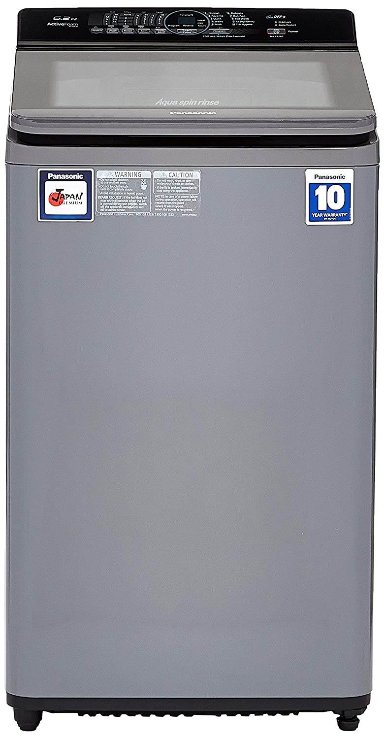 Panasonic 6.2 kg Fully-Automatic Top Loading Washing Machine
