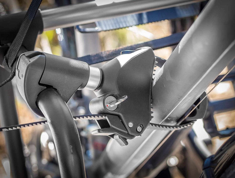 Bullwing Rahmenhalter extra f/ür E-Bike kurz abschlie/ßbar f/ür Fahrradtr/äger 25mm