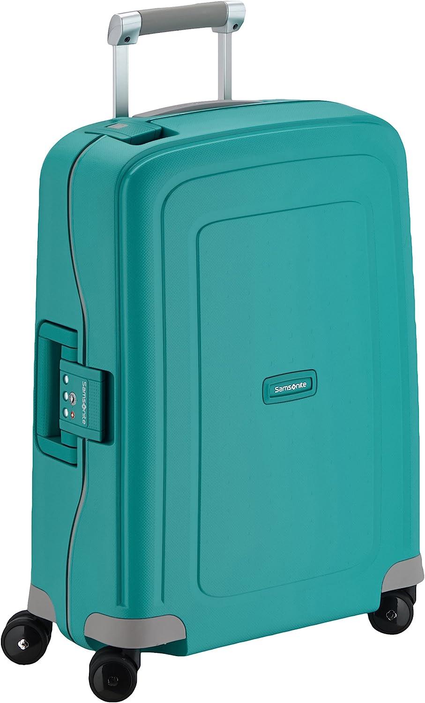 Samsonite S'Cure Spinner S Equipaje de mano, 55 cm, 34 L, Azul (Aqua Blue)