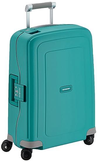 Amazon.com | Samsonite Hand Luggage, 34 Liters, 55X40X20 cm, Aqua Blue | Carry-Ons
