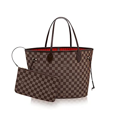 65b62be2b25 .LOUIS VUITTON Damier Ebene Canvas Neverfull MM  Handbags  Amazon.com
