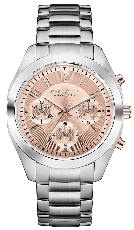 a4d537a75765 «Caravelle New York – Reloj analógico de cuarzo para mujeres