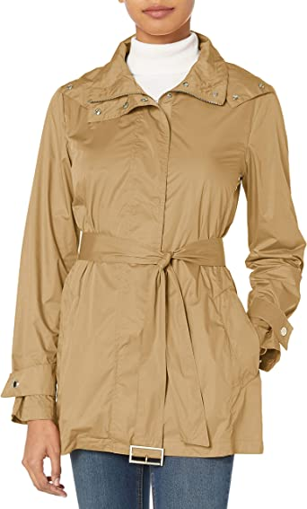 Cole Haan Womens Lightweight Packable Rainwear