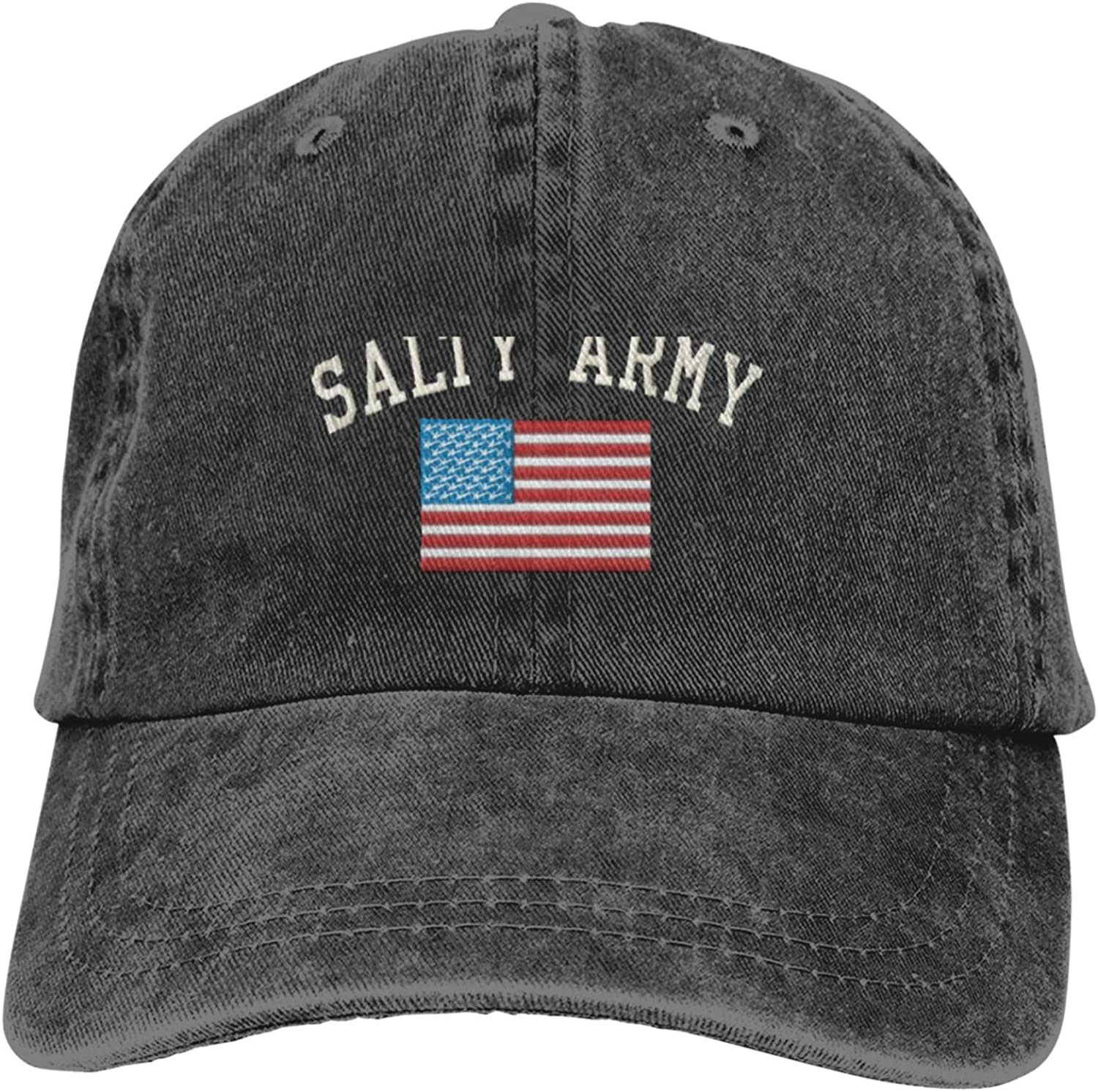 EHECD Salty Army Mens Womens Baseball Cap Adult Casquette Adjustable Athletic Hat