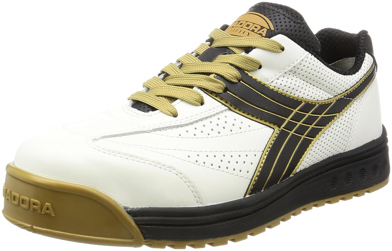 DIADORA(ディアドラ) 安全靴 ピーコック PC-12 ホワイト/ブラック B004GTJ0NY ホワイト&ブラック 25.0 cm