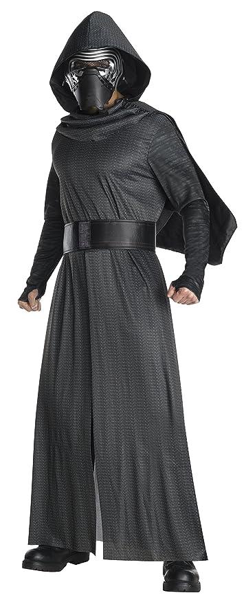 Star Wars - Disfraz de Kylo Ren con espada para adulto, Talla única (Rubies 820206)