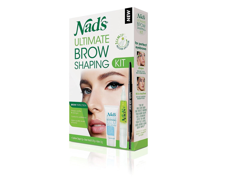 Nads New Ultimate Brow Shaping Kit Beauty Ql Eyebrow Cream 15gr