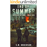 End of Summer: A post viral-apocalypse story: Book One of the Seasons of Man book cover