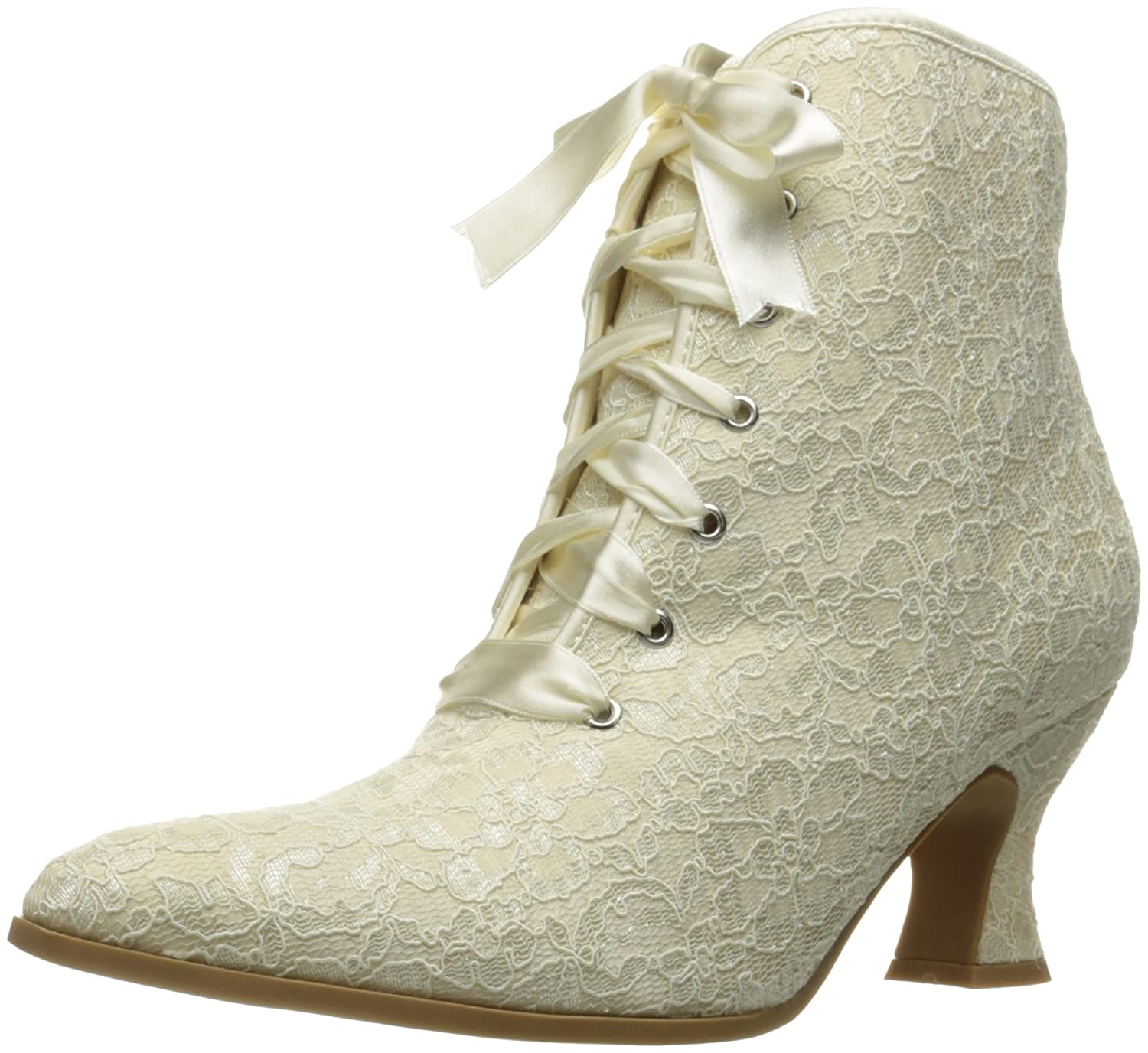 Steampunk Boots & Shoes, Heels & Flats Ellie Shoes Womens 253-elizabeth Ankle Bootie $43.93 AT vintagedancer.com