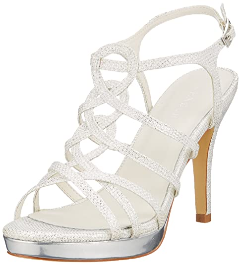 newest 75d29 80db1 Menbur Wedding Tamar, Scarpe da Sposa Donna