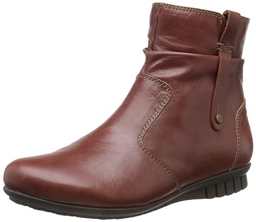 Softwaves Lander - Botines planos, talla: 35 (3 UK), Color marrón - Texas Rust: Amazon.es: Zapatos y complementos