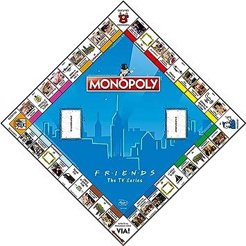 Winning Moves - Friends Monopoly Italian Edition, 036498: Amazon.es: Juguetes y juegos