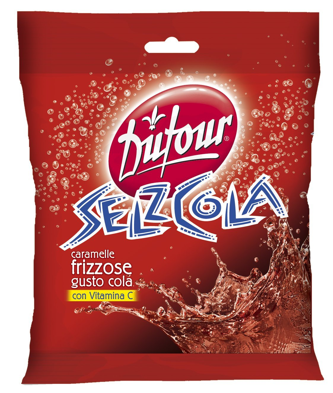 Amazon.com : Dufour Selz Cola Fizzy-filled Candy (7.05oz Bag) : Grocery & Gourmet Food