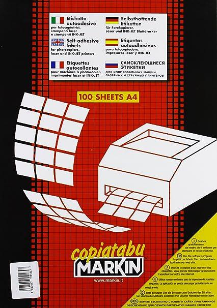 Markin 210C503GI Blanco etiqueta de impresora - Etiquetas de ...