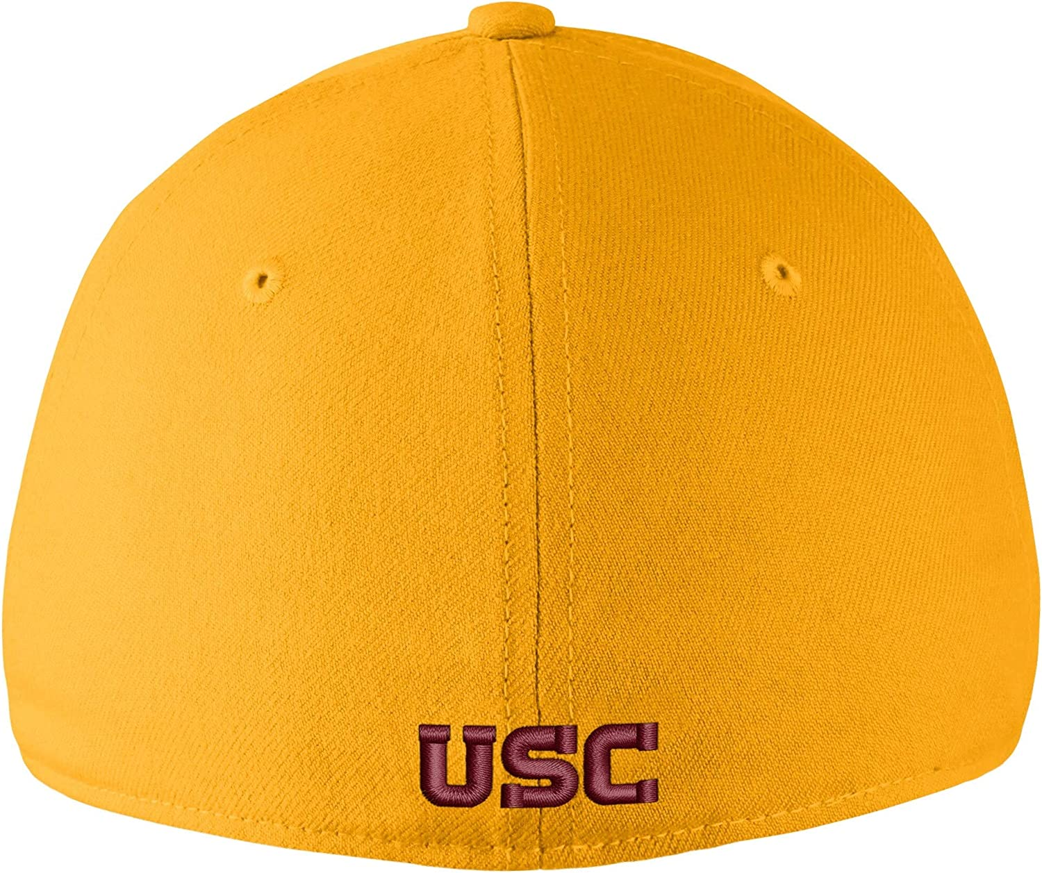 Gold Nike USC Trojans Swoosh Performance Flex Hat