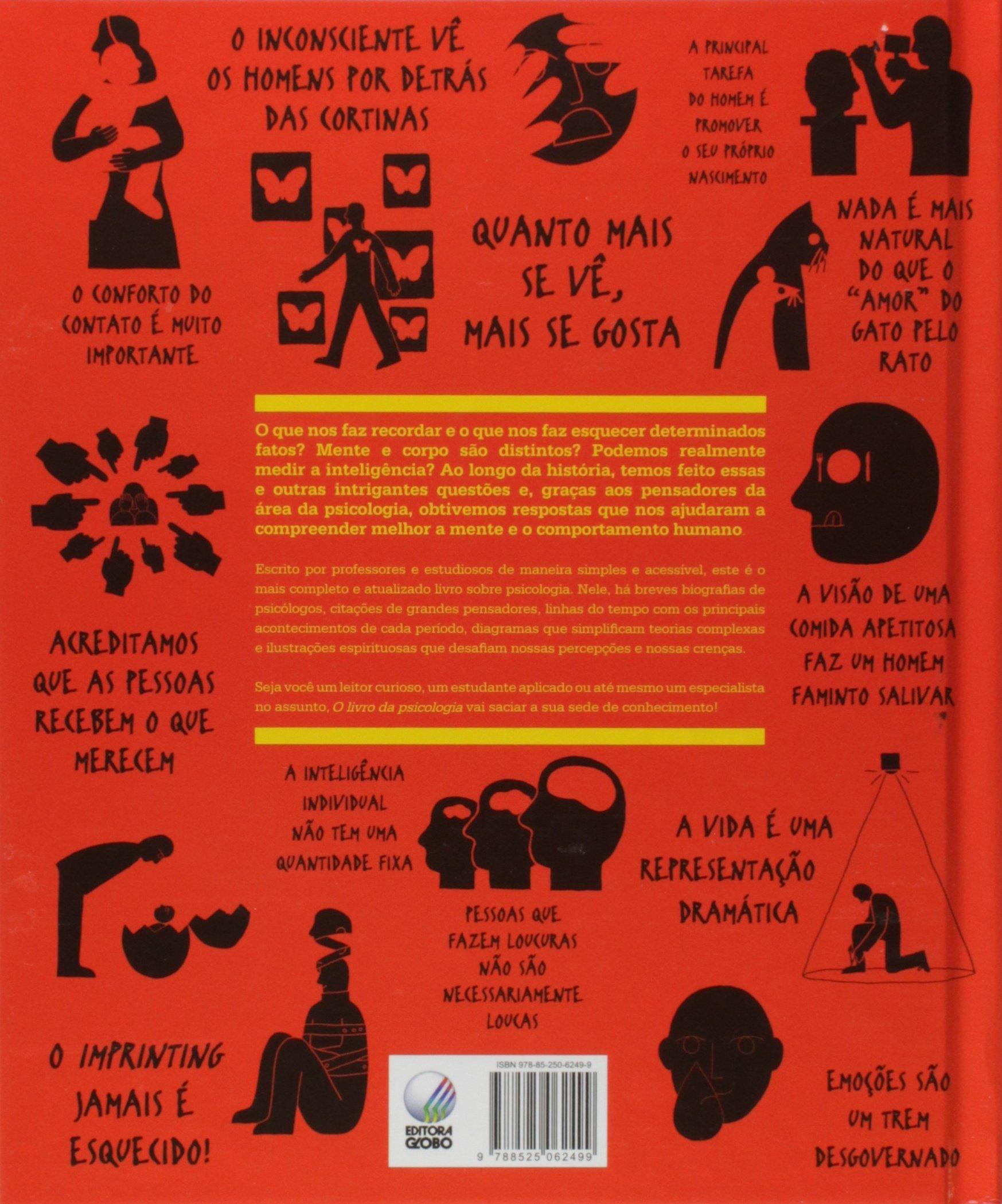 Resultado de imagem para o livro da psicologia editora globo
