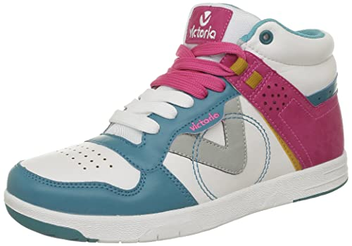 Victoria Sneaker Multicolor PU, Baskets Hautes Femmes