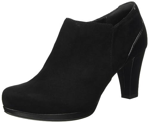 Clarks Women's Chorus True Ankle Boots, Black (Black Suede), 3 UK