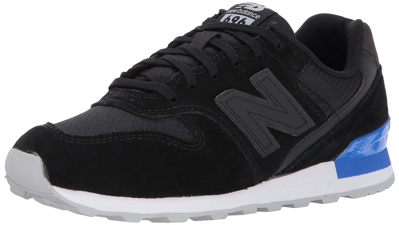 New Balance Women's 696 v1 Sneaker B01MYPGPLF 6.5 B(M) US|Black/Vivid Cobalt
