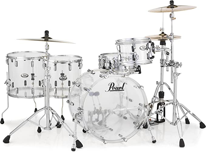 pearl acrylic drums