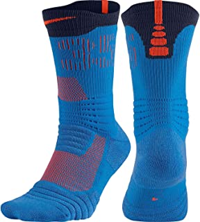 456af999944 Nike Men Elite Versatility Basketball Crew Socks at Amazon Men's ...