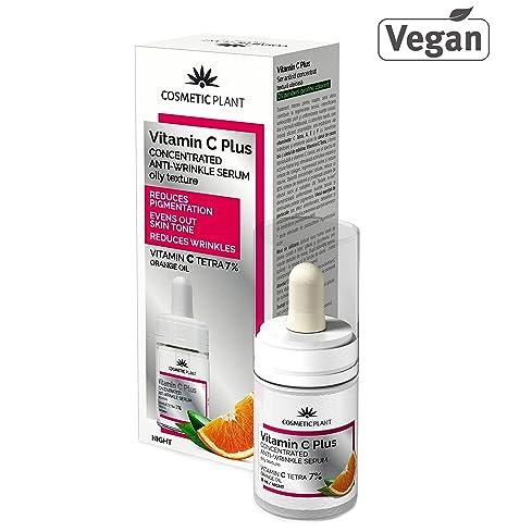 CONCENTRADO Vitamina C Plus Suero Facial con Palmitato de Retinilo, Vitamina E y Vitamina C